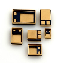 Power Surface Mounts Electronic Packaging AMETEK ECP