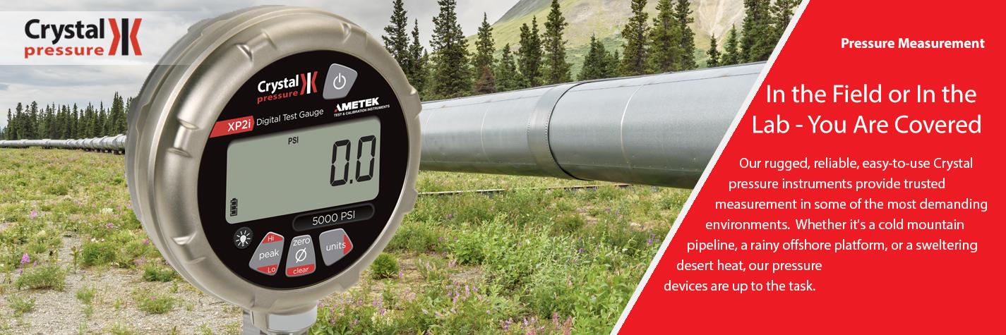 Crystal pressure gauges got you covered!