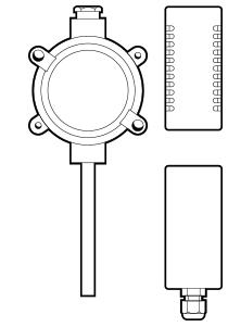 1814-2304 Series Temperature Sensor