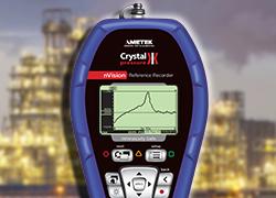 Measure pressure record pressure processing plants