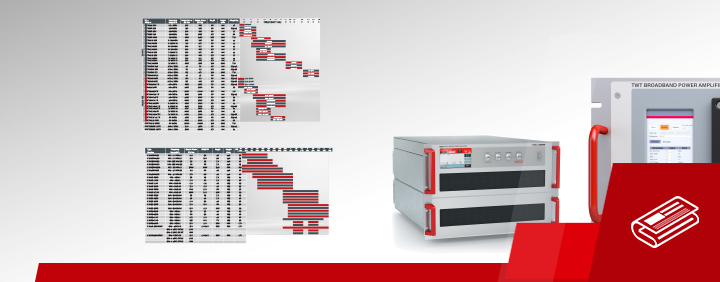 Teseq broadband amplifier range