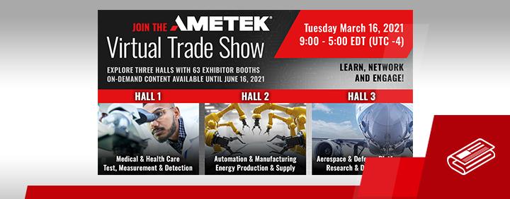 AMETEK Virtual Tradeshow