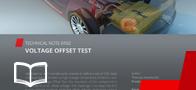 Voltage offset test