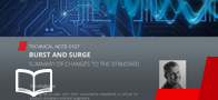Changes in Burst and Surge standard