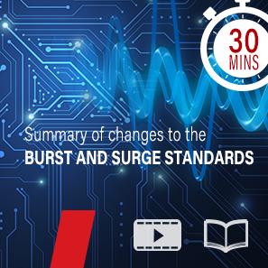 Burst and surge test standards