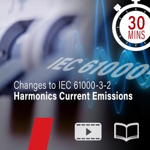 Webinar - Harmonics current emissions - IEC 61000-3-2