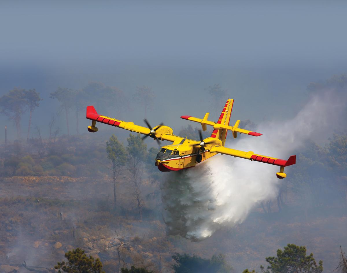 CL145 aircraft