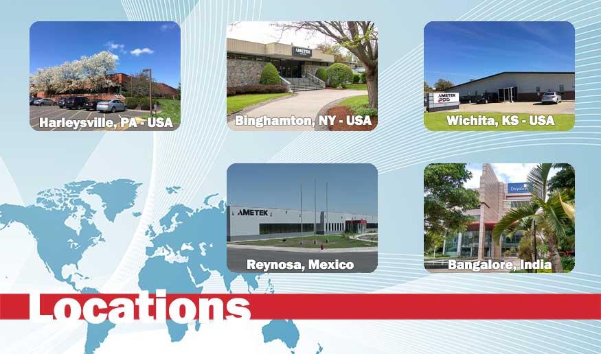 AMETEK PDS Global Locations