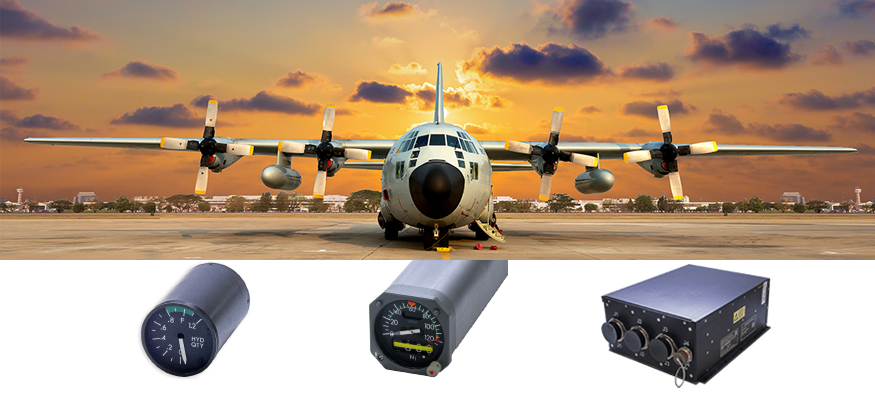 Lockheed C-130 and AMETEK PDS Indicators and DCU