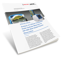 Analysis of Lithium Composite Oxide Cathode Materials