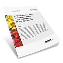 App Brief Sulfur in Fuels Analysis