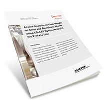 App Brief Analysis of Coat Weight on Steel