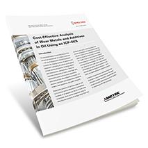 App Brief Analysis of Wear Metals in Oil