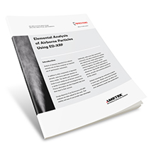 App Brief Analysis of Airborne Particles