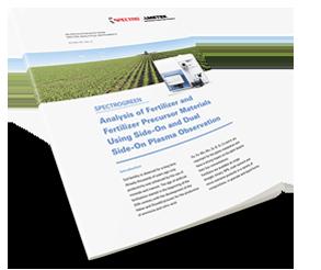 Fertilizer Analysis