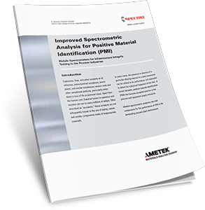 Improved Spectrometric Analysis for Positive Material Identification (PMI)