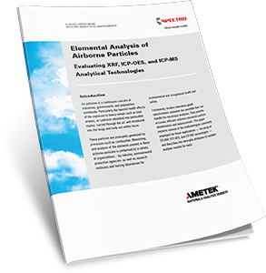 Elemental Analysis of Airborne Particles
