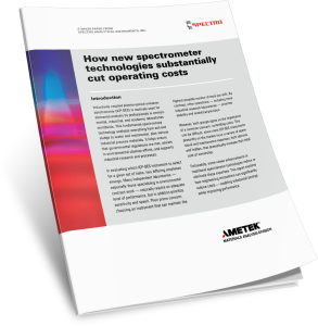 How new spectrometer technologies substantially cut operating costs