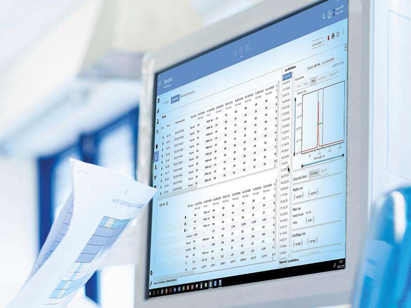 SPECTRO ICP Analyzer Pro Software