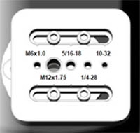 Multithreaded base plate
