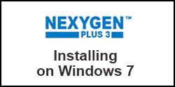 How do I install NEXYGENPlus on Windows 7