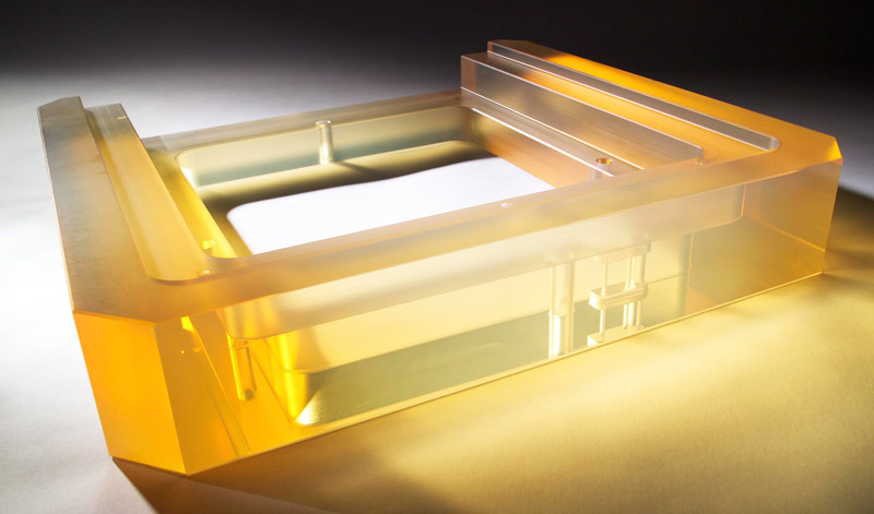 Machined Optical Structure